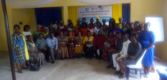 Delta Women Get Trained on Peace and Confidence Building