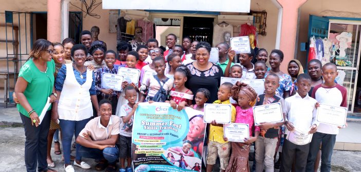 Delta NGO Rounds off 2019 Summer Fest Training Programme in Warri, as Secondary, Primary Schools Children Acquire Vocational Skills