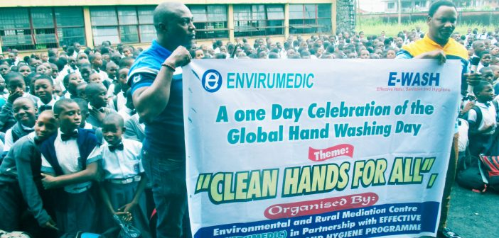Global Handwashing Day: ENVIRUMEDIC Takes Campaign To Public Schools In Warri